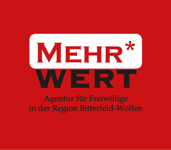 Logo der Freiwilligenagentur MehrWERT in Bitterfeld-Wolfen