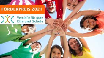 """Förderpreis """"Verein(t) für gute Kita und Schule"""""""